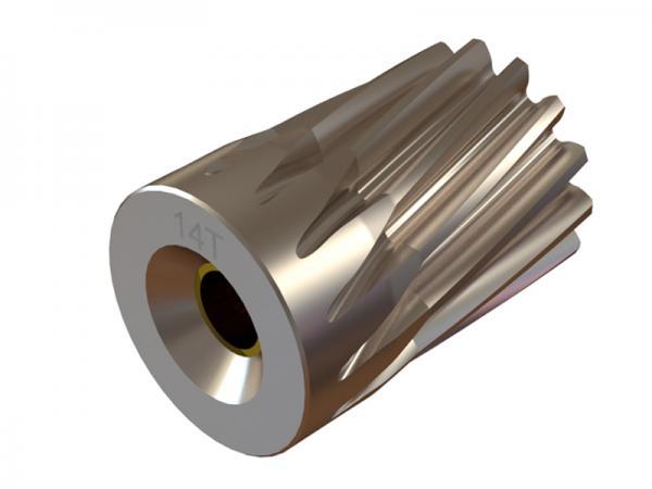 OXY Heli OXY5 Ritzel 14 Zähne 5mm Welle schräg- verzahnt