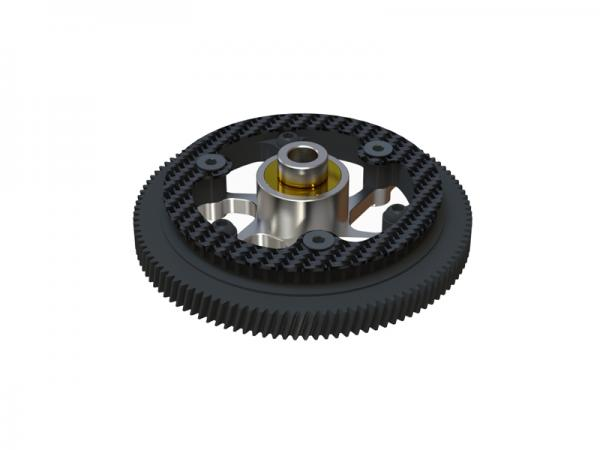 OXY Heli OXY2 Hauptgetriebe - Alu Freilauf System schräg verzahnt