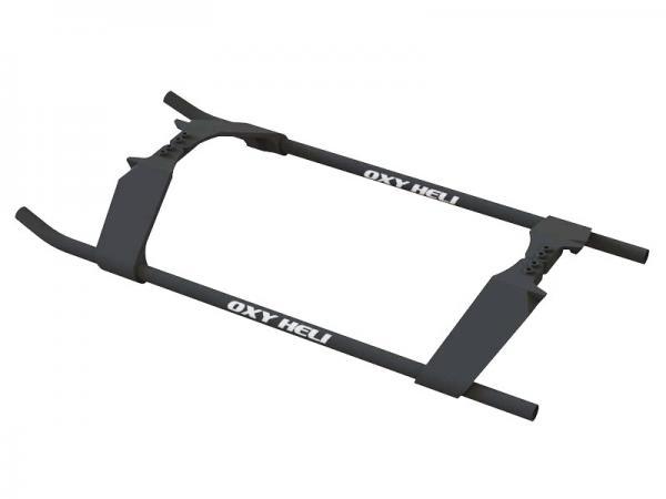 OXY Heli Nitroxy5 Kunststoff Langegestell schwarz