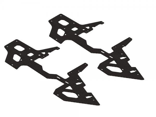 OXY Heli OXY2 SH CF Carbon Rahmenplatten