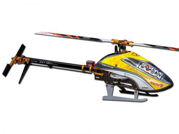 OXY Heli OXY3-Tareq Edition Helikopter Stretch Kit mit 285mm Blätter # OXY3-Tareq Edition
