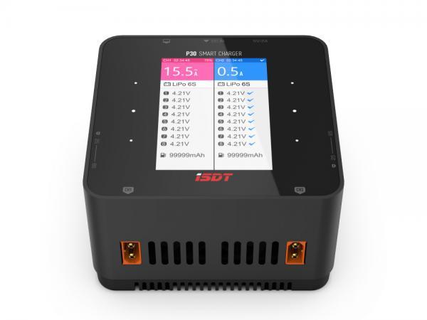 iSDT P30 DUO Ladegerät 2x 1-8S 1000W + 1000W DC