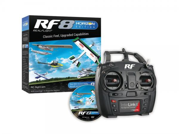 RealFlight 8 Horizon Hobby Edition with InterLink-X Controller