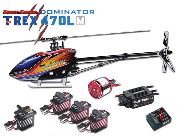 Align T-REX 470LM DOMINATOR mit Brain 2 und HW 60A