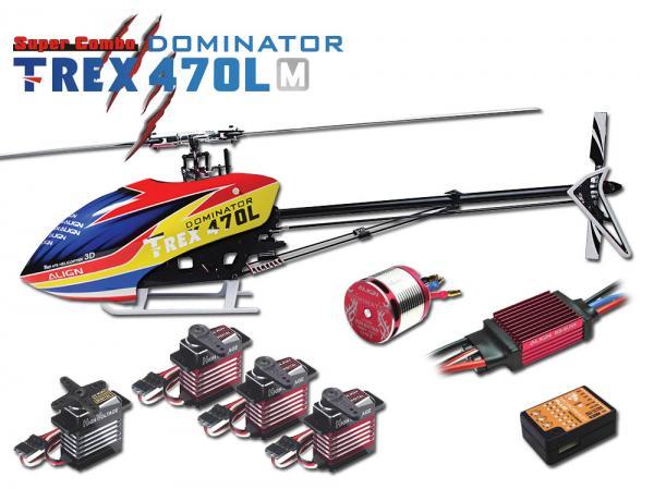 Align T-REX 470L M DOMINATOR 6S Super Combo Metal Edition