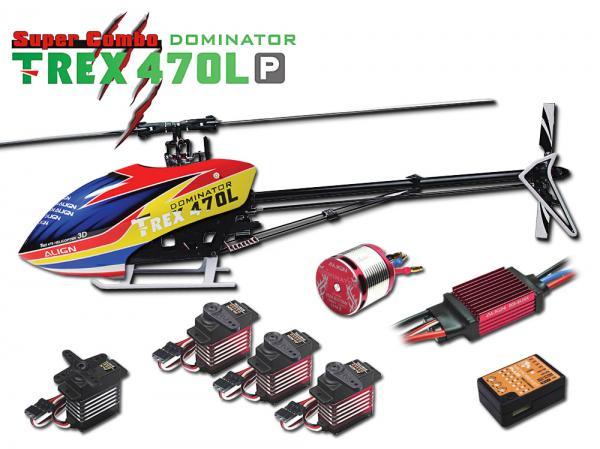 Align T-REX 470L P DOMINATOR 6S Super Combo