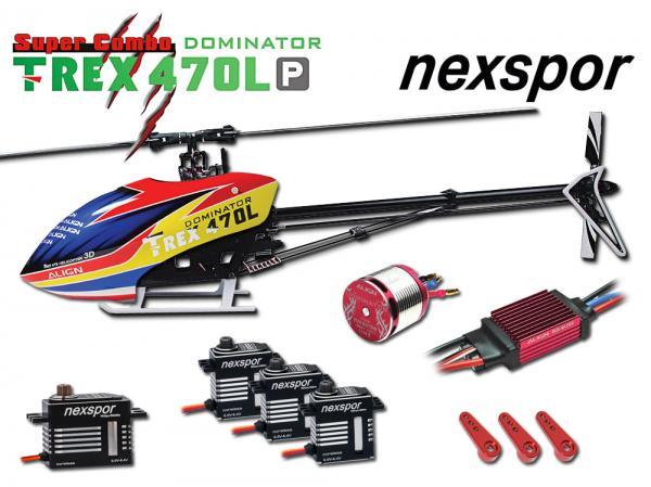 Align T-REX 470LP DOMINATOR Nexspor Combo # RH47E05NXP