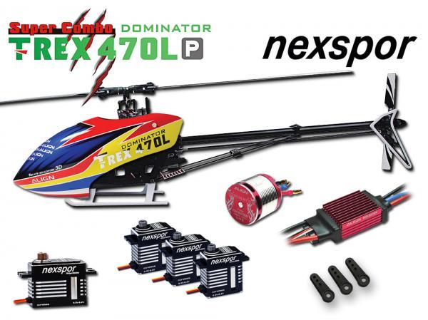 Align T-REX 470LP DOMINATOR Nexspor Combo