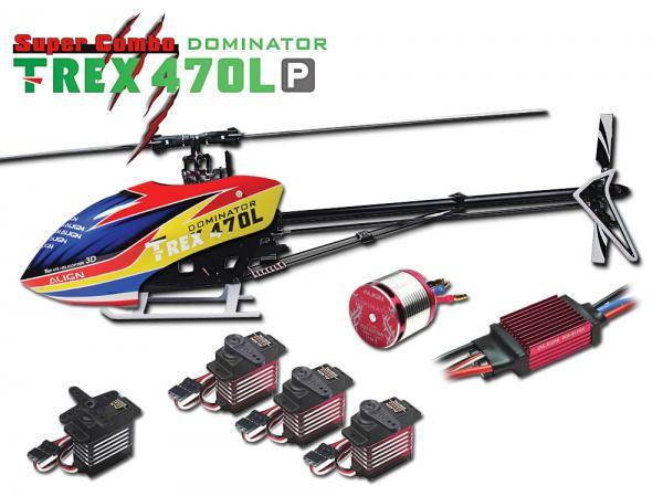 Align T-REX 470L P DOMINATOR 6S Combo (w/o FBL System)