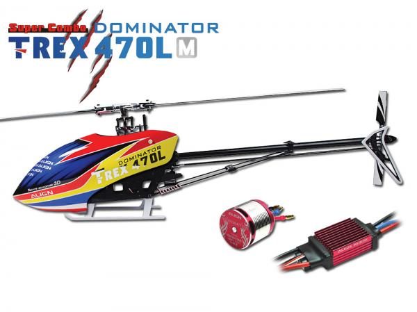 Align T-REX 470LM KIT DOMINATOR Metal Edition (with Motor and ESC)