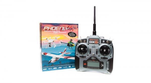 Phoenix R/C Simulator V5.5 m. DX6i EU