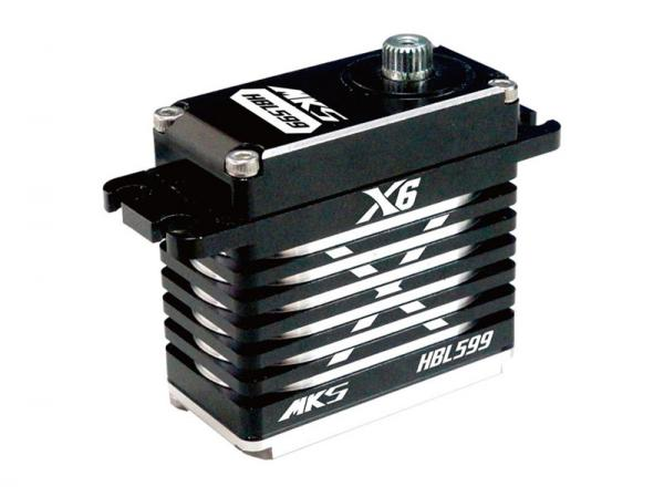 MKS HBL599 HV X6 Digital Servo Brushless