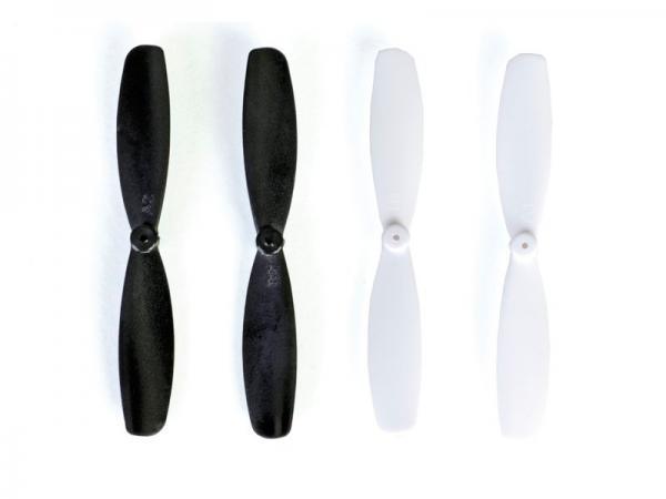 Graupner ALPHA 110 Set Prop schwarz/weiß