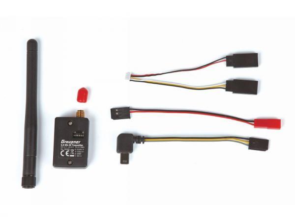 Graupner 5,8 GHz 22 Kanal 25mW AV FPV Sender