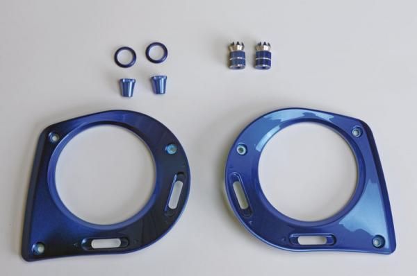 Graupner MZ-32 Frontplatten blau