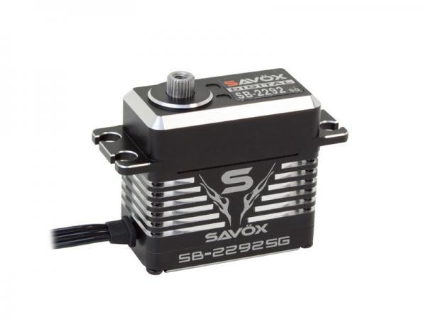 SAVÖX Digital Brushless HV Servo SB-2292SG mit Alu Gehäuse