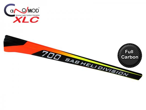 Canomod Goblin 700 Competition Xeros - Carbon Tail Boom