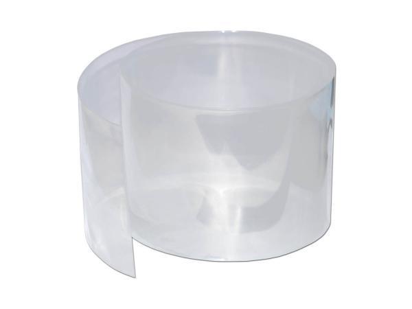 Schrumpfschlauch 130mm breit 1m transparent