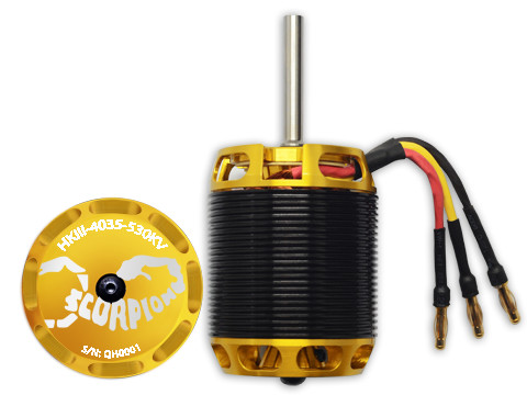 Scorpion HKIII-4035-530KV Brushless Motor