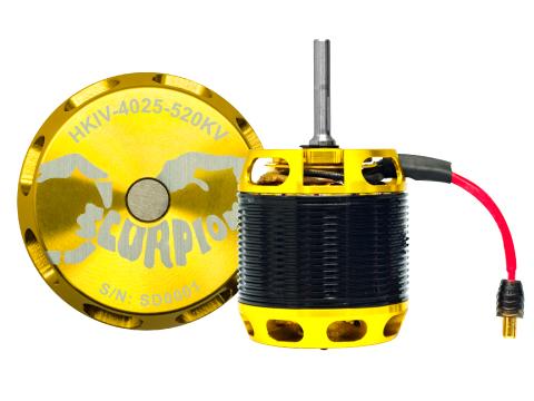 Scorpion HKIV-4025-520KV Brushless Motor # HKIV-4025-520KV
