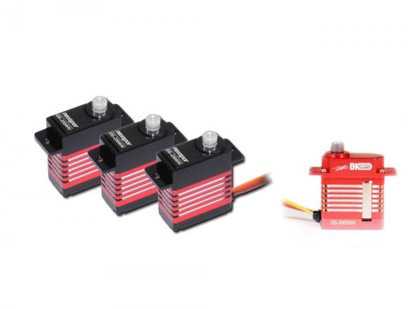 Microservo Set 3x DS-2304HV 1x DS-3005HV # DS-2304HV-3005