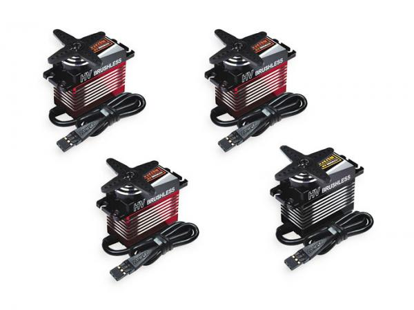 Align Servo Set 3x DS820M 1x DS825M High Voltage Brushless