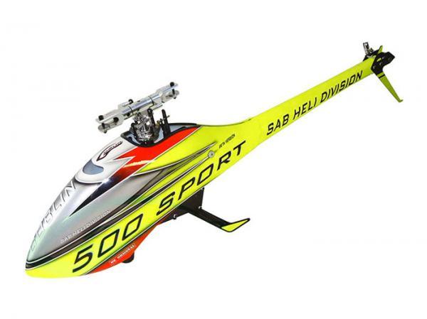 SAB Goblin 500 Sport gelb KIT # SG50G-KIT