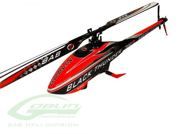 SAB Goblin BLACK THUNDER T (with Rotorblades 690mm)