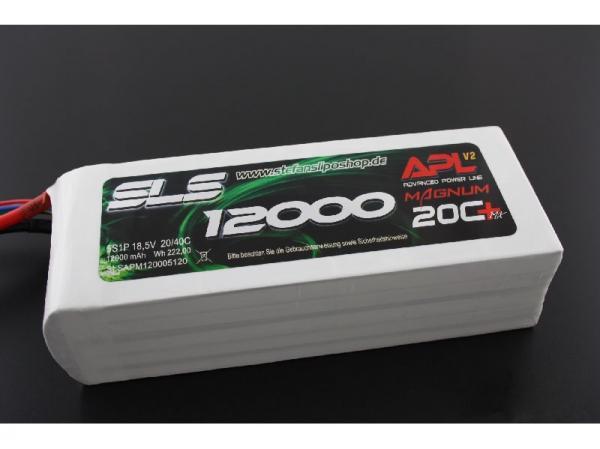 SLS XTRON 12000mAh 6S1P 22,2V 20C+/40C