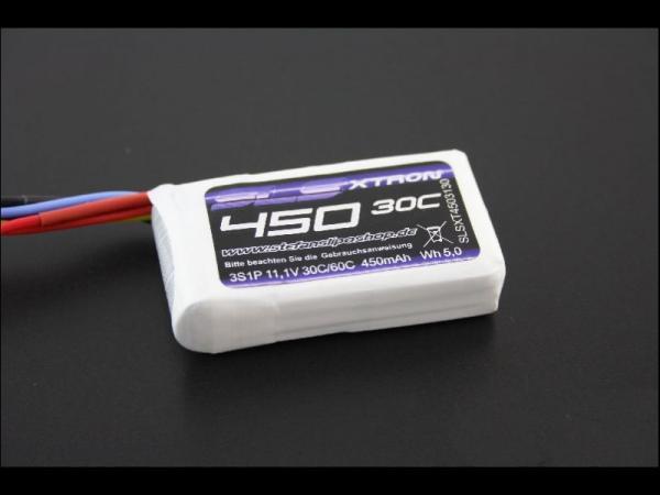 SLS XTRON 450mAh 3S1P 11,1V 30C/60C