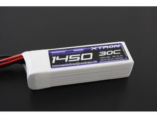 SLS XTRON 1450mAh 6S1P 22,2V 30C/60C # SLSXT14506130
