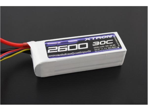SLS XTRON 2600mAh 4S1P 14,8V 30C/60C