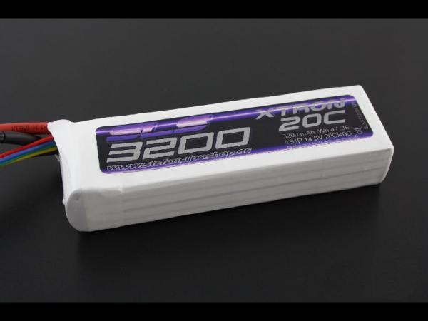 SLS XTRON 3200mAh 3S1P 11,1V 20C+/40C