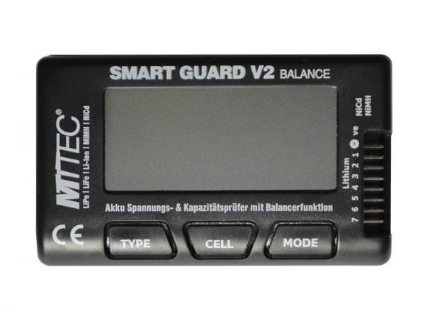 MTTEC LiPo Checker und Balancer für LiPo 2-7S Smart Guard V2