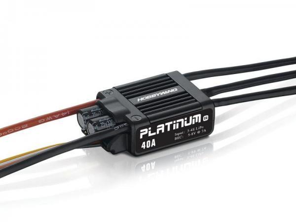HOBBYWING Platinum Pro 40A V4 Regler 3-4s BEC 7A