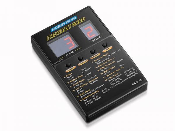 HOBBYWING Programmierbox 2A LED für Hobbywing Platinum Regler