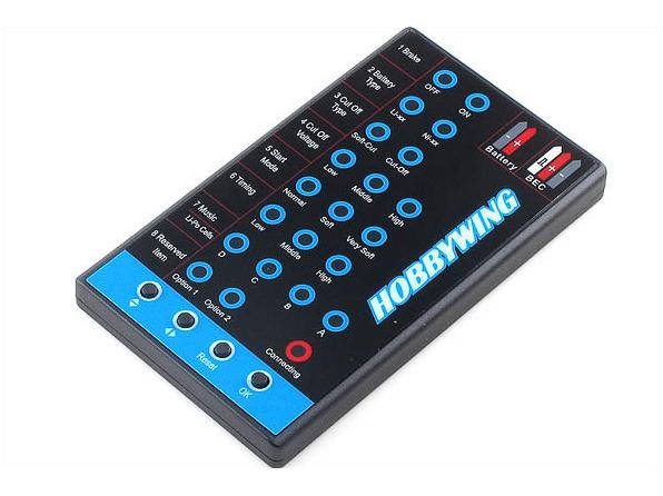 HOBBYWING Programmierkarte für Hobbywing Flyfun and Skywalker Regler # HW86020041