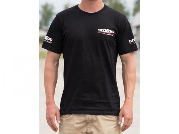 soXos T-Shirt Schwarz