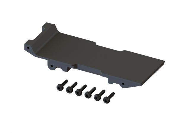 OXY Heli OXY2 Akkuhalteplatte 3D gedruckt Set # SP-OXY2-024