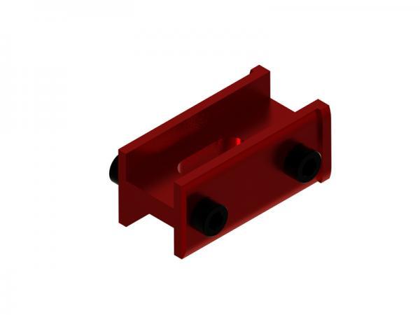 OXY Heli OXY2-FE Heckhalter (hinten) rot