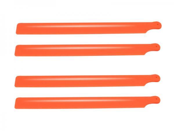 OXY Heli OXY2 Kunststoff Rotorblätter 210mm 2Satz - orange
