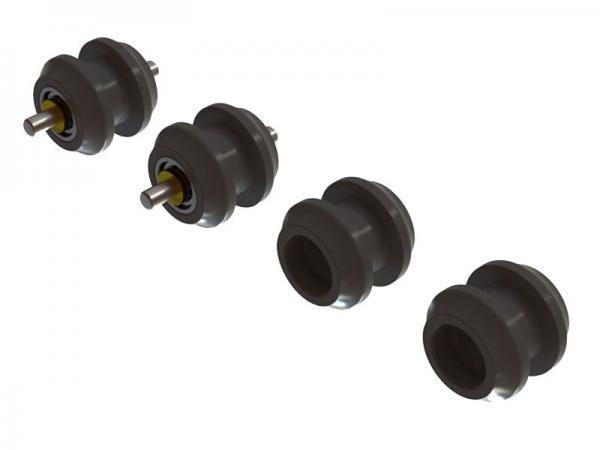 OXY Heli OXY2 Zahnriemen- Führungsrollen Kunststoff # SP-OXY2-123