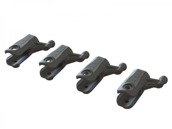 OXY Heli OXY2 Heckrotorblatthalter Kunststoff 4 Stück # SP-OXY2-126