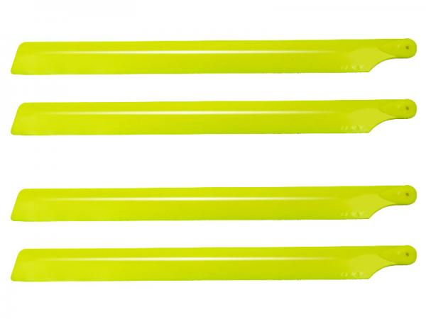 Lynx OXY2 2 Satz Kunststoff Rotorblätter 210mm 2 Blatt - gelb