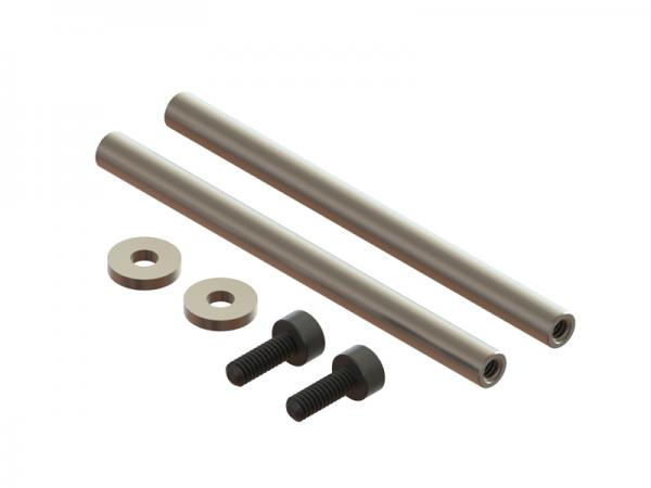 OXY Heli OXY3 Carbon Steel Spindle Shaft, 2PC