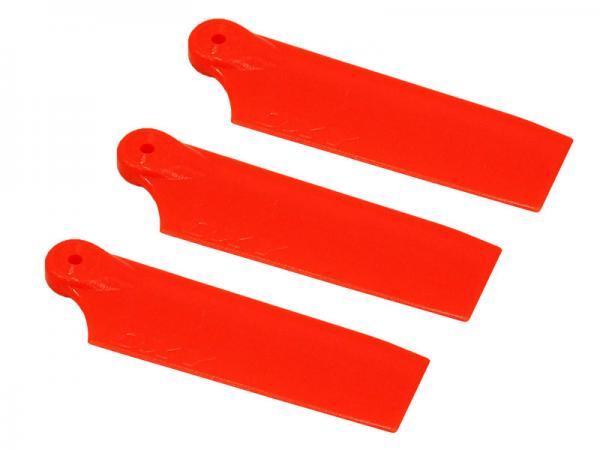 LYNX OXY3 3 Blatt Kunststoff Heckrotorblätter 47 mm - orange