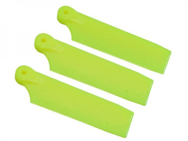 LYNX OXY3 3 Blatt Kunststoff Heckrotorblätter 47 mm - gelb