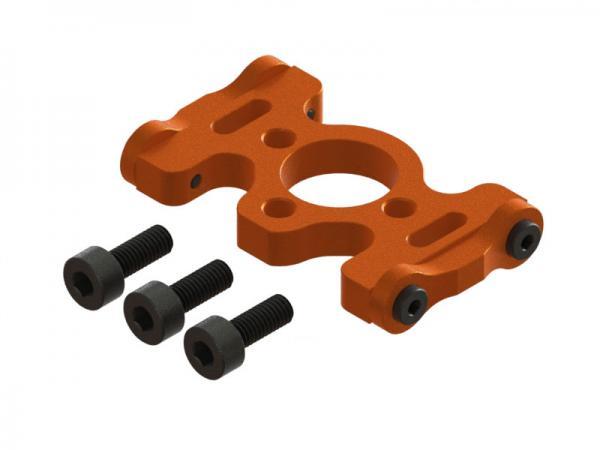 OXY Heli OXY3 TE Alu Motorträgerplatte orange