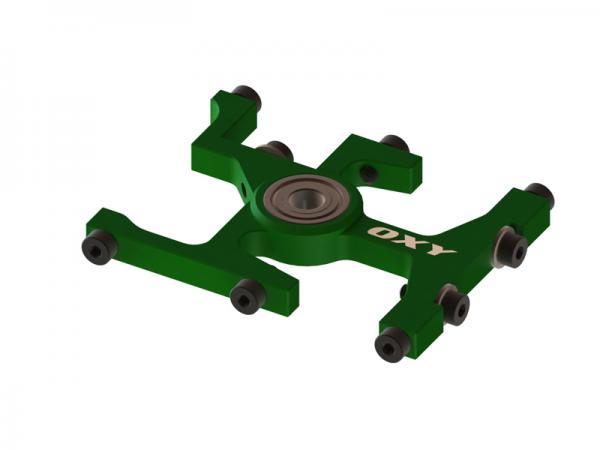 OXY Heli OXY3 GL oberer Alu Hauptwellenlagerbock grün