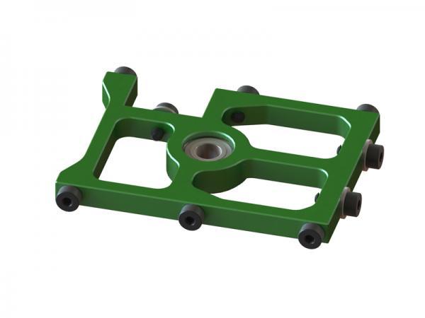 OXY Heli OXY3 GL mittlerer Alu Hauptwellenlagerbock grün